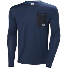 Helly Hansen Lomma - Camiseta de manga larga Hombre - azul